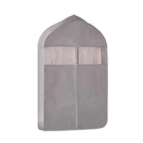 KLFD Appendere I Vestiti Borsa di Polvere Cassetto Dell'organizzatore Storage Box, Pieghevole della Famiglia Immagazzinaggio della Biancheria Forniture Ripiani Organizzatore,Grigio,60 * 10 * 108cm