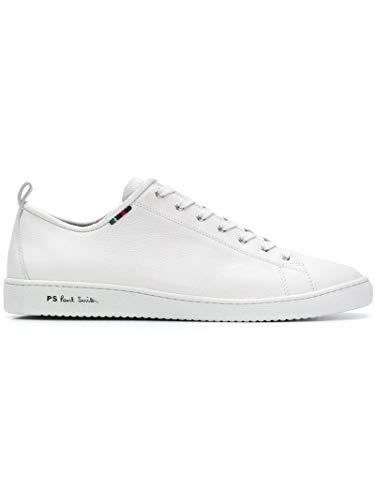 Paul Smith Luxury Fashion Herren M2SMIY02ASET01 Weiss Leder Sneakers | Frühling Sommer 20