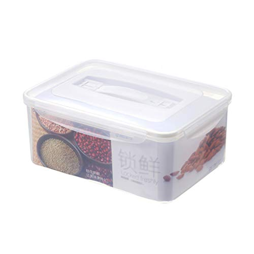Vers fruit en plantaardig voedsel bewaarcontainer met deksels, vriezer, koelkast - veilig - 100% voedselbestendig, BPA-vrije plastic organizer 4L
