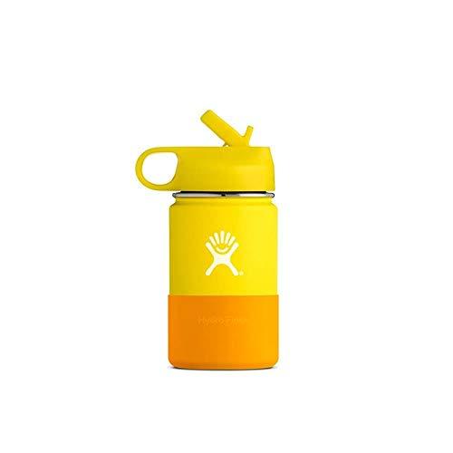 Hydro Flask Kinder-Trinkflasche, Edelstahl und vakuumisoliert, Lemon, 354ml (12oz)