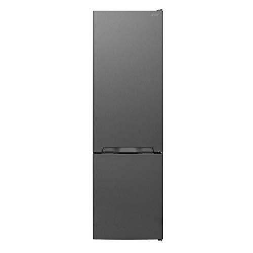 Sharp SJ-BA05IMXL2-EU Kühl-Gefrier-Kombination / A++ / Höhe 180 cm / Kühlteil 194 L / Gefrierteil 70 L / NoFrost / Steuerung über LED-Piktogramme / ZeroDegreeZone-Schubfach (0°C-Zone) / Inox-Look