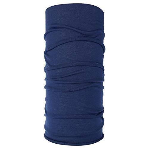 OOOO Outdoor Shade Staubdichtes Armband Stirnband Druck Multifunktions Einfarbiger Schal Schmuck-dark_blue