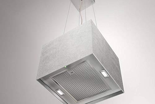 Airforce Concrete - Campana extractora para lámpara (40 cm), color gris