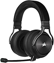 CORSAIR Virtuoso RGB Wireless XT High-Fidelity Gaming Headset with Bluetooth and Spatial Audio - Works with Mac, PC, PS5, PS4 - Slate