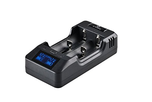 XTAR VP2 Selectable Current Li-ion Battery Charger