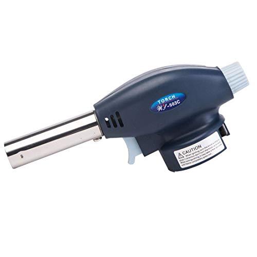 Antorcha de gas de llama de metal soplete soplete de cocina butano gas soldadura quemador de gas llama encendedor hogar cocina herramienta