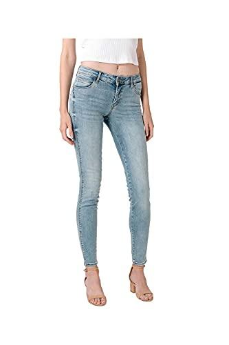 Guess Jeans W0YA37D4481 Jeans Denim Donna Azzurro GTEC 32-L30