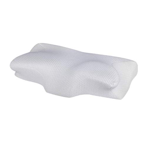 NEBULA Contoured Orthopedic Pillow with Cervical Spine and Neck Alignment,...
