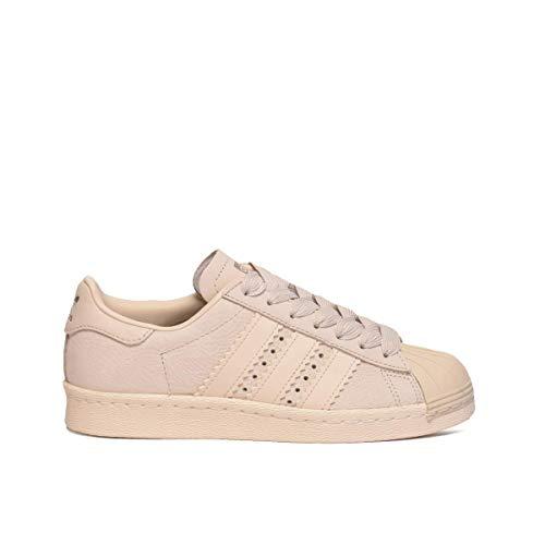 Adidas Superstar 80S W, Zapatillas de Deporte para Mujer, Multicolor (Marcla/Marcla/Casbla 000), 36 EU