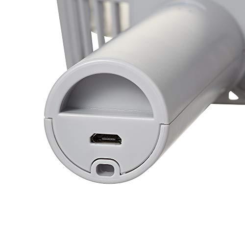 2021年NEWモデルFrancfranc(フランフラン)公式フレハンディファン携帯扇風機手持ち扇風機卓上扇風機USB充電式5段階風量調整(グレー)