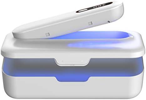 UV Light Sanitizer Box UV Cell Phone Sanitizer Phone Cleaner UV Sterilizer 2 in 1 Design with product image