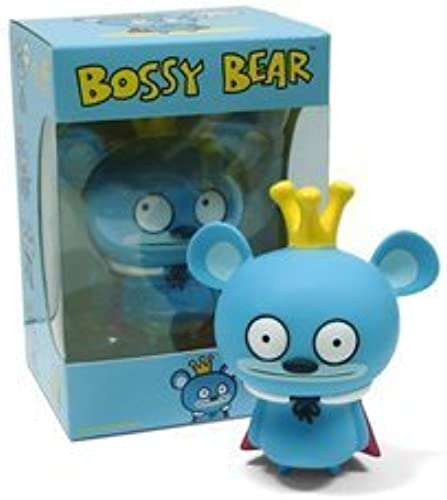 Bossy Bear - 5  Vinyl Figure by David Horvath by Horvath