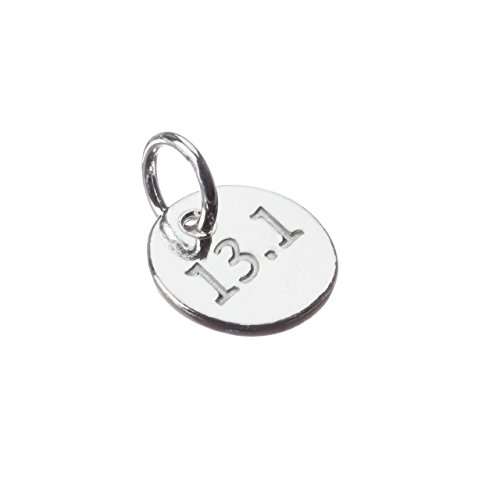 Running Jewelry, One small 13.1 sterling silver running charm