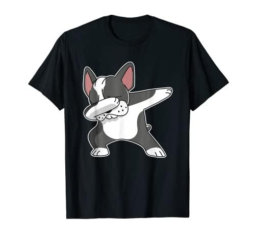 French-Bulldog-Dabbing-Frenchie Dog Dab Dance T-Shirt