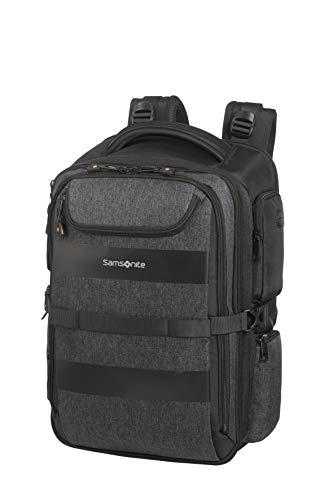 Samsonite Bleisure Laptop backpacks, 15.6 Zoll erweiterbar - Overnight (48 cm 29 L), Anthracite