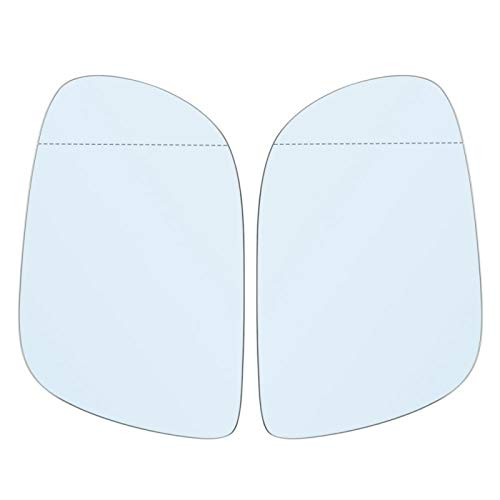 specchietto retrovisore antiusura per Auto in Vetro Riflettente anticorrosione affidabile per Il Vostro Veicolo per Audi Q7 06-09 Bianco