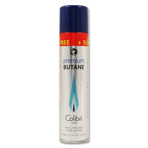 Feuerzeuggas Original Colibri Premium Butane zum Nachfüllen in Gastanks 400 ml