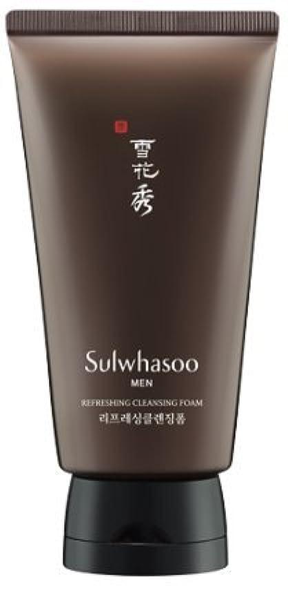 バケツ野なスクリーチ[Sulwhasoo] 雪花秀 for man Refreshing クレンジングフォーム / Refreshing Cleansing Foam 150ml [並行輸入品]
