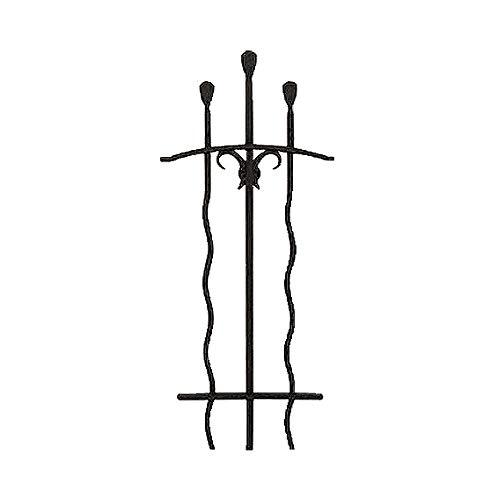 アールフィックスフェンス/ウェーブ/1型02-06 DRFB ディーズ ガーデン (アール ブラック) おしゃれ高級フェンスブロック塀壁ヨーロッパ風洋風deasgarden金物可愛いかわいい黒色ブラック茶色cuteblackbrown