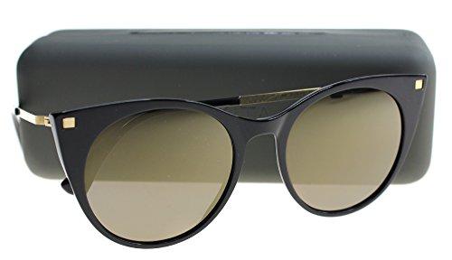 Mykita DESNA - Gafas de sol, color negro y dorado