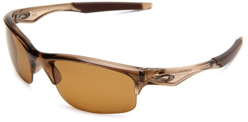 Oakley - Gafas de sol Rectangulares Bottle Rocket para hombre, Brown Smoke/Bronze Polarized (S3)