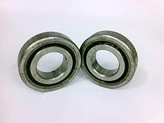 FAFNIR BEARING MM30BS62 DUH Ball Bearings, Duplex Angular Contact Bearing - Back to Back, 30 MM BORE, 62 MM OD, 30 MM Width, 60 ° Contact Angle, C0, Open