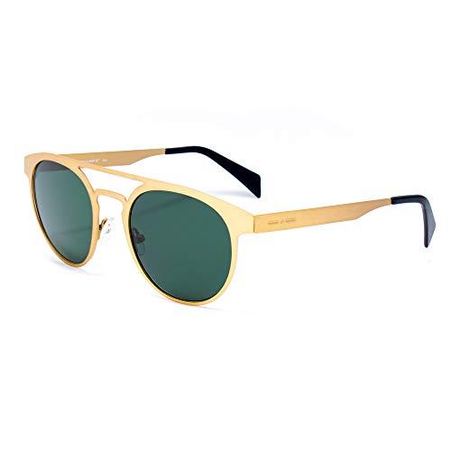 italia independent 0020-120-120 Gafas de Sol, Dorado, 51 Unisex