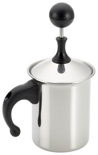 Frabosk Montalatte Cappuccino Creamer, zu 3 Tassen, Stahl, 8 cm