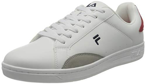 FILA Courtstep men zapatilla Hombre, blanco (White/Fila Red), 42 EU
