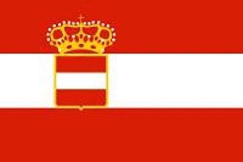 U24 Fahne Flagge Österreich-Ungarn Marine Bootsflagge Premiumqualität 20 x 30 cm