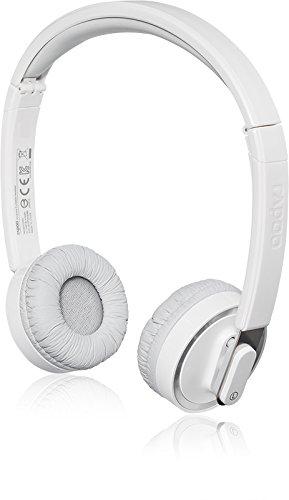 Rapoo H3080 Faltbare Wireless Headset/ Kopfhörer (2,4 GHz, integriertes Mikrofon) grau
