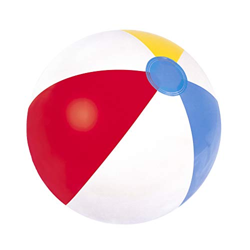 Bestway Panneau Ballon de Plage 16 inch Blanc
