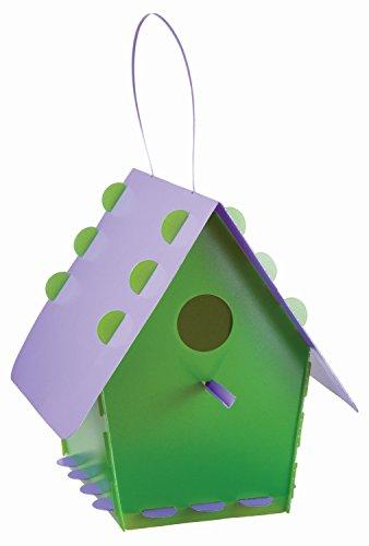 Troppenz Bachmann Tt01 - Vogelhaus Tweet Home Klassisch, grün/lila