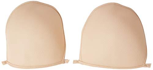 PRYM maat D 2-delig 100 procent polyester BH-cups voor badmode, flesh