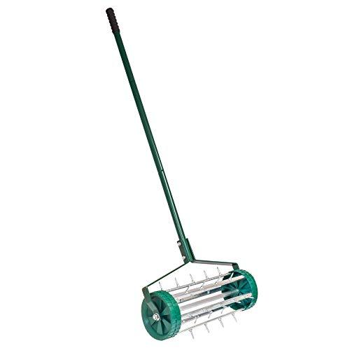 KCT Garden Spike Roller Lawn Aerator - Gardening Tool