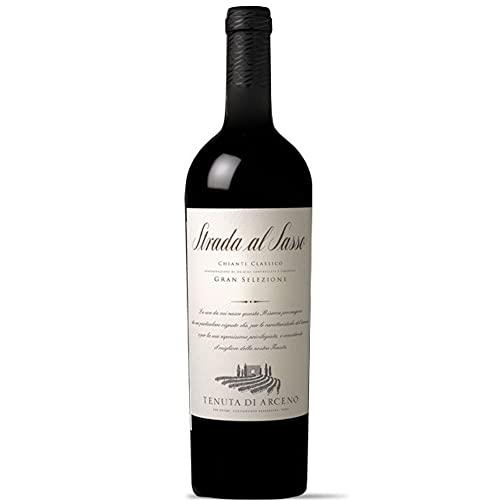 Chianti Classico Docg | Gran Selezione | Strada al Sasso 2018 | Tenuta di Arceno | Vino rosso Toscana | 750ml