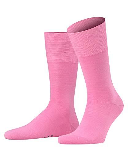 FALKE Herren Socken Airport - Merinowoll-/Baumwollmischung, 1 Paar, Rosa (Peony 8042), 43-44