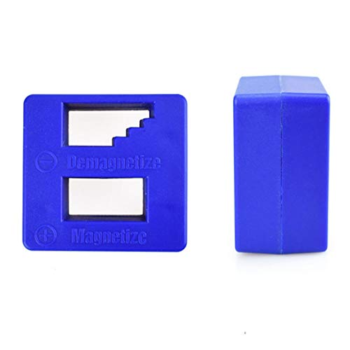 Swiftswan Mini magnetizador rápido portátil, desmagnetizador, herramienta magnética para cabeza de destornillador, destornillador, herramienta de reparación de cabeza