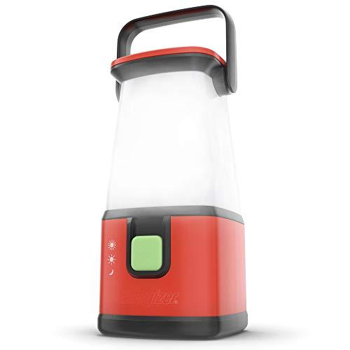 Energizer - Linterna LED para camping, 650 horas, 500 lúmenes, resistente al agua IPX4, con pilas LED, uso para huracán, luz de emergencia, camping