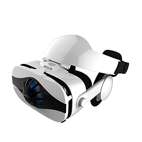 WXHXSRJ Gafas de Realidad Virtual 3D, compatibles con teléfonos Inteligentes de 4.0'-6.33', para Videojuegos de películas 3D VR, Regalos para niños
