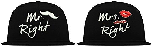 TRVPPY - Gorra de béisbol - para hombre blanco y negro Talla única