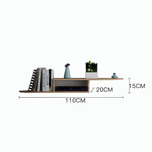 plank TV wand/woonkamer muur Set-top box muur opknoping/slaapkamer massief hout partitie/router opslagdoos
