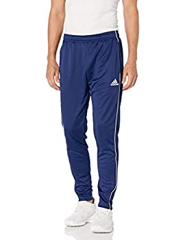adidas Men s Core 18 Training Pants Dark Blue/White Medium