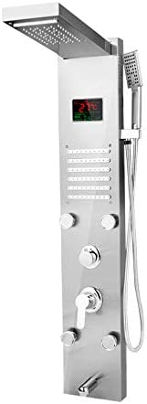 Top 10 Best multi-function shower tower panel massage spray Reviews