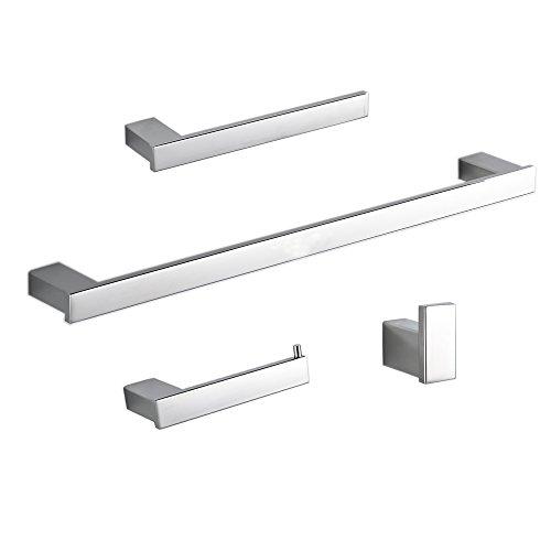 Kelelife - Juego de accesorios de baño 800SE (4 piezas)