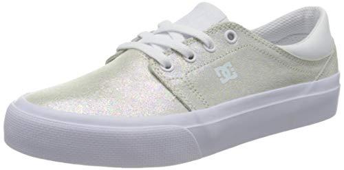 DC Shoes Damen Trase Sneaker, Weiß, 36 EU