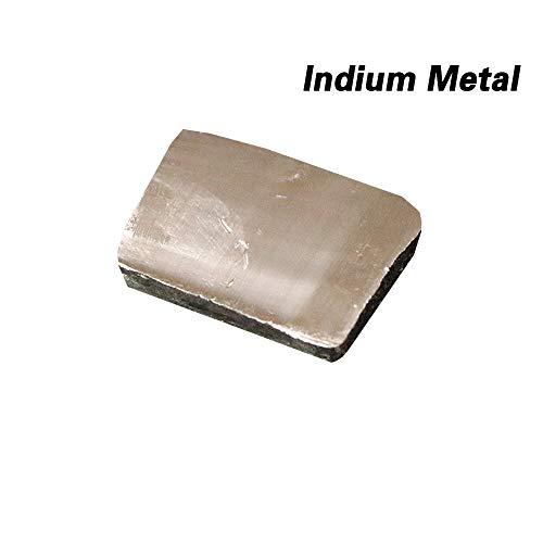 Indium, Indium-Metall, 30 g, 99,99 % rein, Phitoon