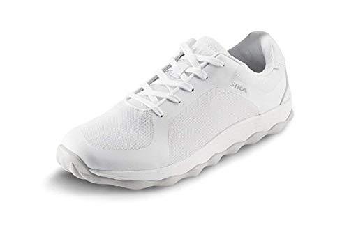 Sika 50011 Bubble Move - Sneaker Berufsschuh - Geeignet für Krankenhaus und Pflege, Gastronomie (HORECA) und Küche, Pharmaindustrie, Dienstleistung und Reinigung, Freizeit - Weiß - Gr. 38