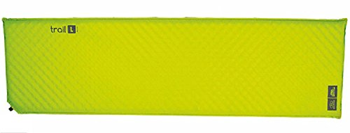 Highlander Outdoor Products Trail Self Inflating Air Bed Mat Sleeping Camping 5 cm Foam Single And Double (Single 183 x 51 x 5cm)