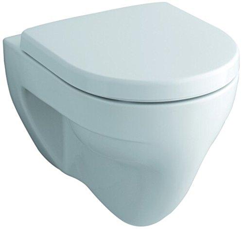 Keramag Wand WC Flachspüler (ohne Deckel) Renova Nr.1 203140, weiß(alpin) 4,5/6L Hänge WC 203140000